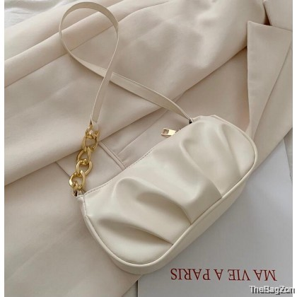 Vedette Shoulder Bag Fashion Chain Handbag Portable Women Casual Underarm Shoulder Bags Clutch Q4-709