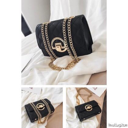 Isla Shoulder Bag Fashion Chain Handbag Portable Women Casual Underarm Shoulder Bags Q5-710