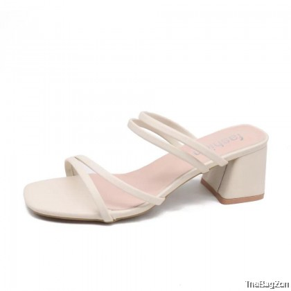 Dianelle Tulip Women Midi Heels (2 ways to wear) M4-6048
