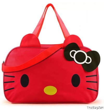 KITTY TRAVEL LUGGAGE CUTE HANDBAG J1-031