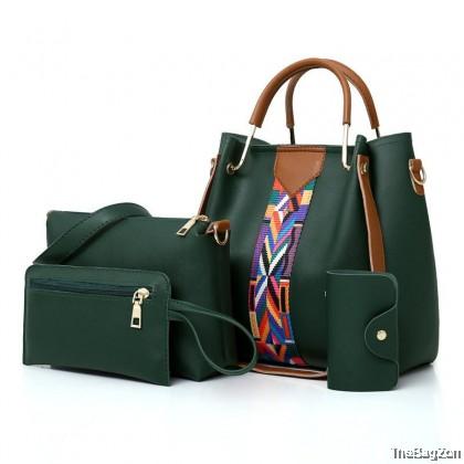 4 in 1 Mystyle Shoulder Combo Set Sling Bag C9-334