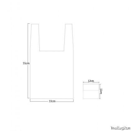 FOLDABLE SHOPPING NYLON REUSABLE RECYCLE BAG P4-521