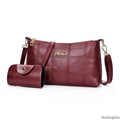 2 IN 1 BALI WOMEN SLING BAG SET SA4-589