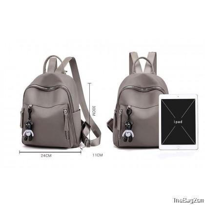 Bear Nylon Backpack J1-584
