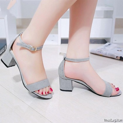 6.5CM Ikatan High Heel Sandal Shoes SA3-6006