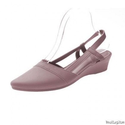 280 WARDA Jelly Shoes Low Heel Pointed Toe Women's Sandals L6-6011