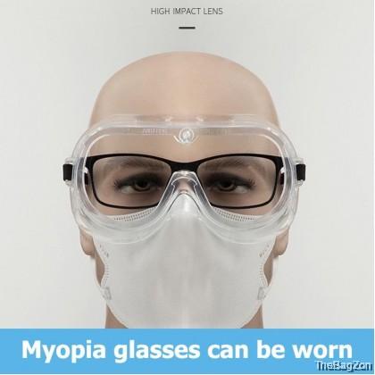 3M 1621AF Medical Grade Safety Goggles Anti-virus /Anti Flog/Anti-splash W4-7017