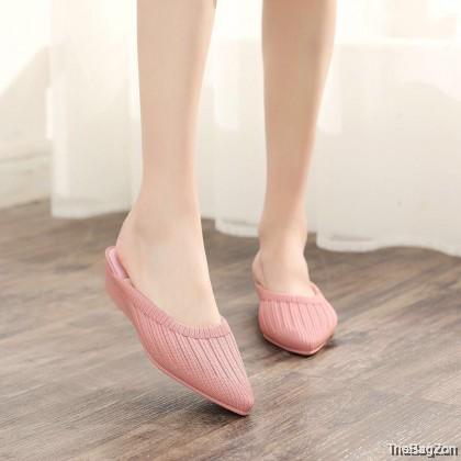 Adolf Wedges Heel Shoes Women's High Heels Lady Kasut Tinggi Perempuan Wanita Lawa Dinner A4-6030