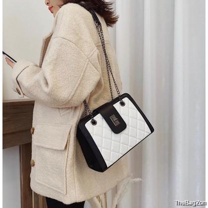 Classic Trendy Rhombus Messenger Chain Bag K3-670