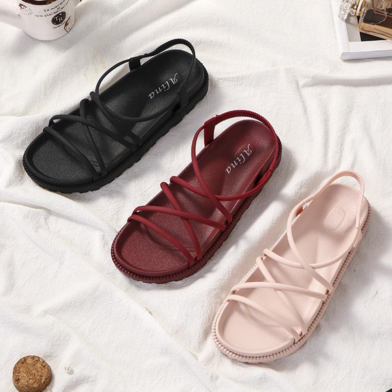 IXXO Sandal Women's High Heel Kasut Shoes Perempuan Lady Wanita Lawa Sandals Gift R8-6040