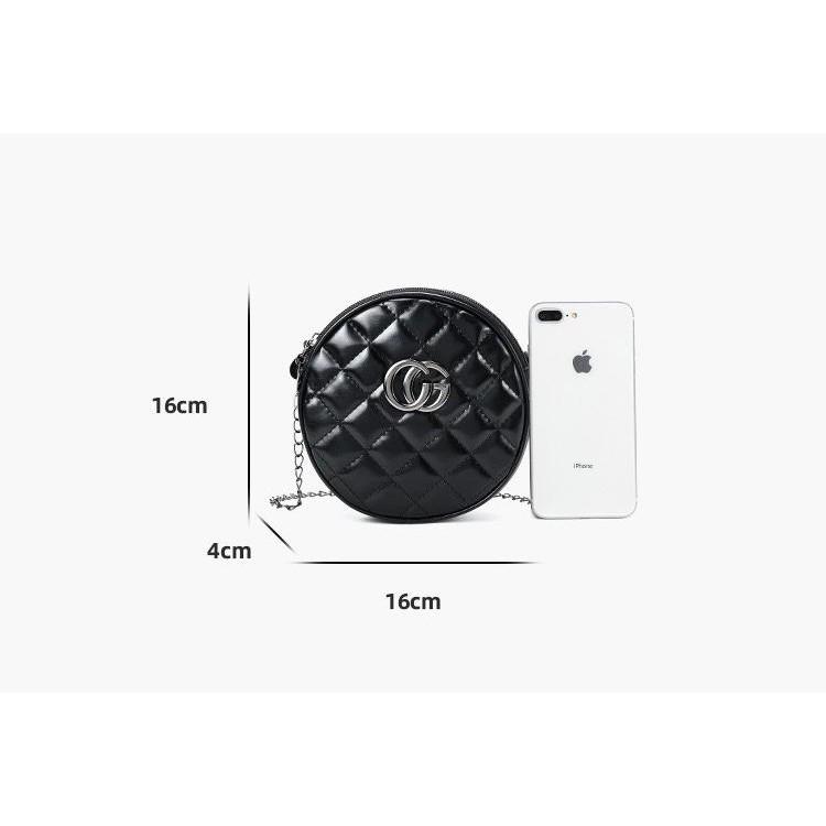 CIRCLE CHAIN SLING BAG P5-581