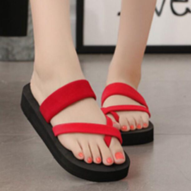 3CM TSKK Sandal High Heel Slipper Shoes SA2-6003