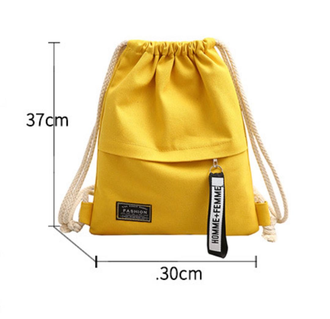 Stanfem Drawstring Women's School Travel Backpack Shoulder Bag Beg Tangan Wanita Perempuan L5-656